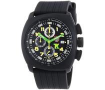 Armbanduhr XL Chronograph Quarz verschiedene Materialien 1101