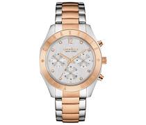 Armbanduhr Chronograph Quarz Edelstahl 45L156