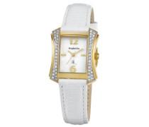 Damen-Armbanduhr Fjord Analog Quarz Leder