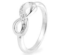 Ring Infinity mit Zirkoniasteinchen LD IF 11