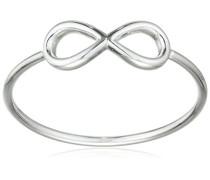 Damen-Ring Classic Versilbert