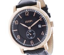 ! Armbanduhr XL Analog Quarz Edelstahl JP100611F04U