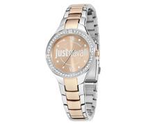 Armbanduhr JUST Shade Analog Quarz Edelstahl R7253201502