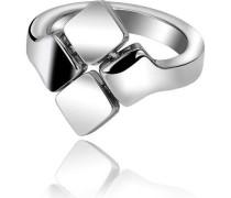 Damen-Ring Streamers Edelstahl