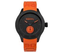 Analog Quarz Uhr mit Silikon Armband SYG212OB