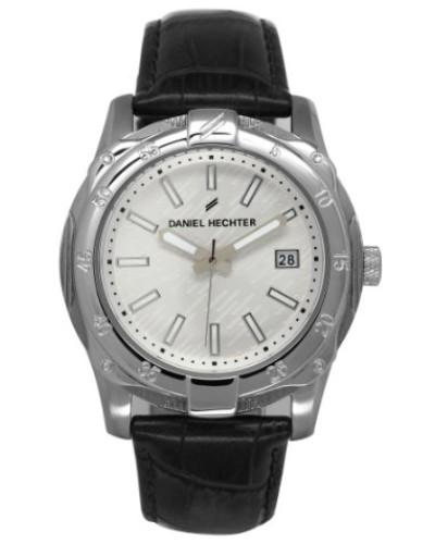 Herren-Armbanduhr Analog Quarz Leder DHH 006-FA