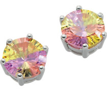 Ohrstecker Rainbow Collection 925 Sterlingsilber Multicolor Zirkonia CC-34