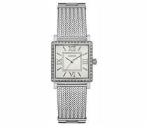 Erwachsene Datum klassisch Quarz Uhr mit Edelstahl Armband W0826L1