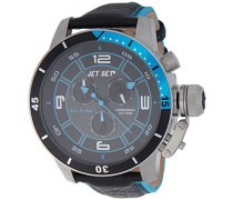 Armbanduhr San Remo Chronograph Quarz Leder J91101-233