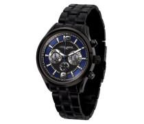 Armbanduhr XL Analog Quarz Edelstahl JG6100-21