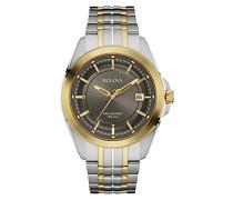 Precisionist 98B273 - Designer-Armbanduhr - Armband aus Edelstahl - Zweifarbig mit Gold