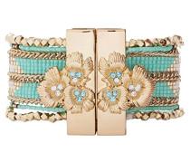 Damen-Manschetten Armbänder Edelstahl E18SETERTU