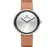 Damen Analog Quarz Uhr mit Leder Armband 32281