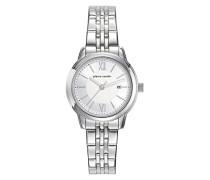 Analog Quarz Uhr mit Edelstahl Armband PC901852F03