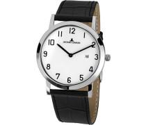 Armbanduhr Classic Analog Quarz Leder 1-1727C