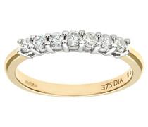Damen-Ring 9 Karat 375 Gelbgold