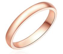 Ring rosevergoldet 925 Silber teilvergoldet