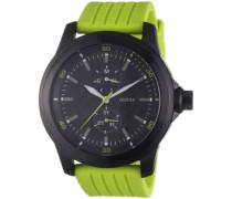 Herren-Armbanduhr Analog Quarz Silikon W95121G2