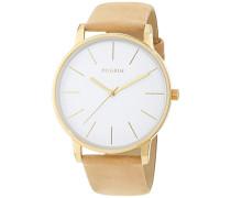 Analog Quarz Uhr mit Leder Armband 701712550