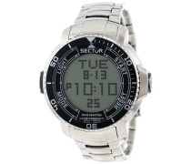 Armbanduhr XL Dive Master Digital Edelstahl R3253967001