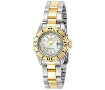Analog Quartz Uhr mit Edelstahl beschichtet Armband 6895