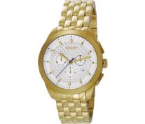 Armbanduhr XL Legend Chronograph Quarz Edelstahl JP101071F04