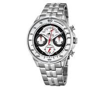 Herren-Armbanduhr Analog Quarz Edelstahl 10129/1
