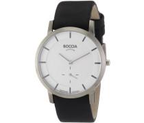 Herren-Armbanduhr Leder 3540-03