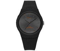 Analog Quarz Uhr mit Silikon Armband SYG184EE