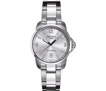 Armbanduhr XL Analog Quarz Edelstahl C001.410.11.037.00