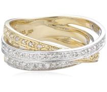 Diamonds by Ellen K. Ring 585 Gelbgold Diamant 0.24 Karat W 16 360370196-1-016