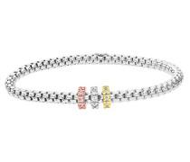 Armband 925 Sterling Silber Zirkonia Oxyde de Zirconium SBT1503W