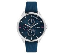 Analog Quarz Uhr mit Leder Armband R4251102528