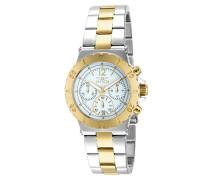 14855 Specialty Uhr Edelstahl Quarz weißen Zifferblat