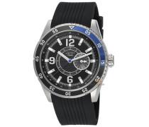 Armbanduhr XL Varsity Blue Analog Quarz Kautschuk ES104131002