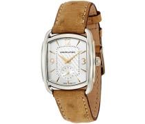 Analog Quarz Uhr mit Leder Armband H12451855