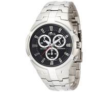 Herren-Armbanduhr Analog Quarz Edelstahl 10121/3