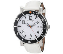 Herren Analog Quarz Uhr mit Leder Armband A17502G