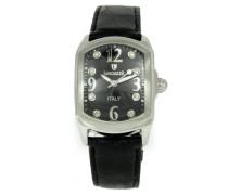 Herren-Armbanduhr Analog Quarz Leder 0264SDS