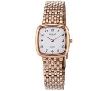Analog Quarz Uhr mit Edelstahl Armband 12210956