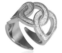 Damen-Ring SOLEIL Bronze mit Glam Film BSOABB02
