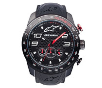 Chronograph Quarz Uhr mit Silikon Armband 1036-96002