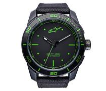 Analog Klassisch Quarz Uhr mit Nylon Armband 1017-96039