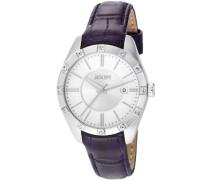 Armbanduhr Emblem Analog Quarz Leder JP101022F04