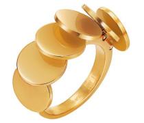 Ring 925 Sterling Silber Edelstahl rhodiniert Voilette