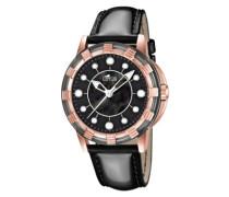 Damen-Armbanduhr Analog Quarz Leder 15860/2