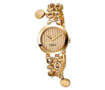 – ES103042004 Armbanduhr 045J699 Analog gold Armband Stahl Gold