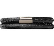 Armband JLo Reptil 2-reihig Edelstahl Leder 40.0 cm - 1003-40