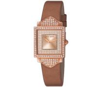 Damen-Armbanduhr Chérie Analog Quarz Leder