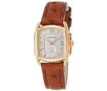 Analog Quarz Uhr mit Leder Armband H12341555